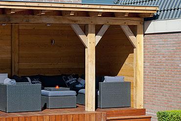 Garage Met Overkapping : Timmerbedrijf aim timmerwerken uit veldhoven voor een overkapping